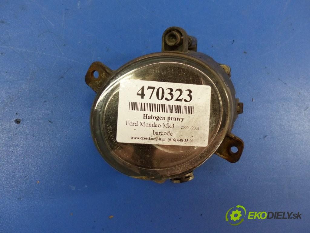 hmlové svetlo, hmlovka pravý  Ford Mondeo Mk3 00-07       0