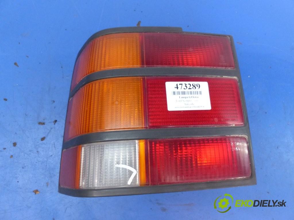světlo zadní část levá strana  Ford Scorpio       0