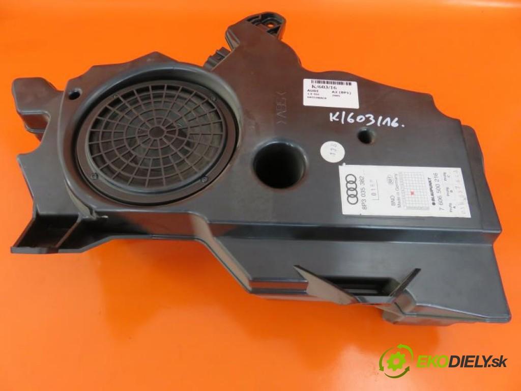 subwoofer 7606500216 AUDI A3 (8P1) 1.9 TDI BKC, BLS, BXE manual 0 5 77,00000000 105 3