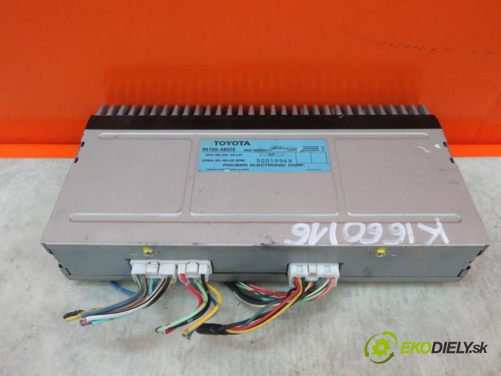 zosilňovač 8610048020 LEXUS RX I 3.0 VVT- I 24V 1MZ-FE automatic 0 4 164,00000000 220 5