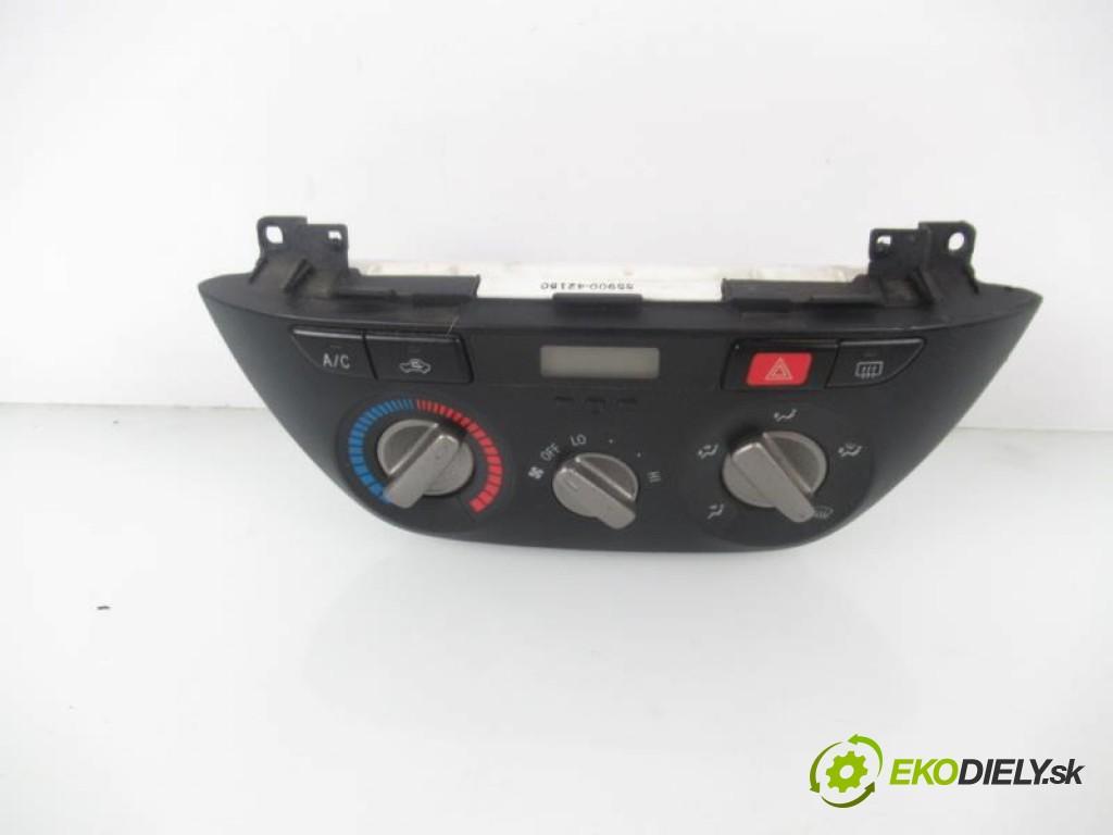 panel topení - klimatizace 5590042150 TOYOTA RAV 4 II 2.0 D-4D 4WD 1CD-FTV manual 0 5 85,00000000 116 3