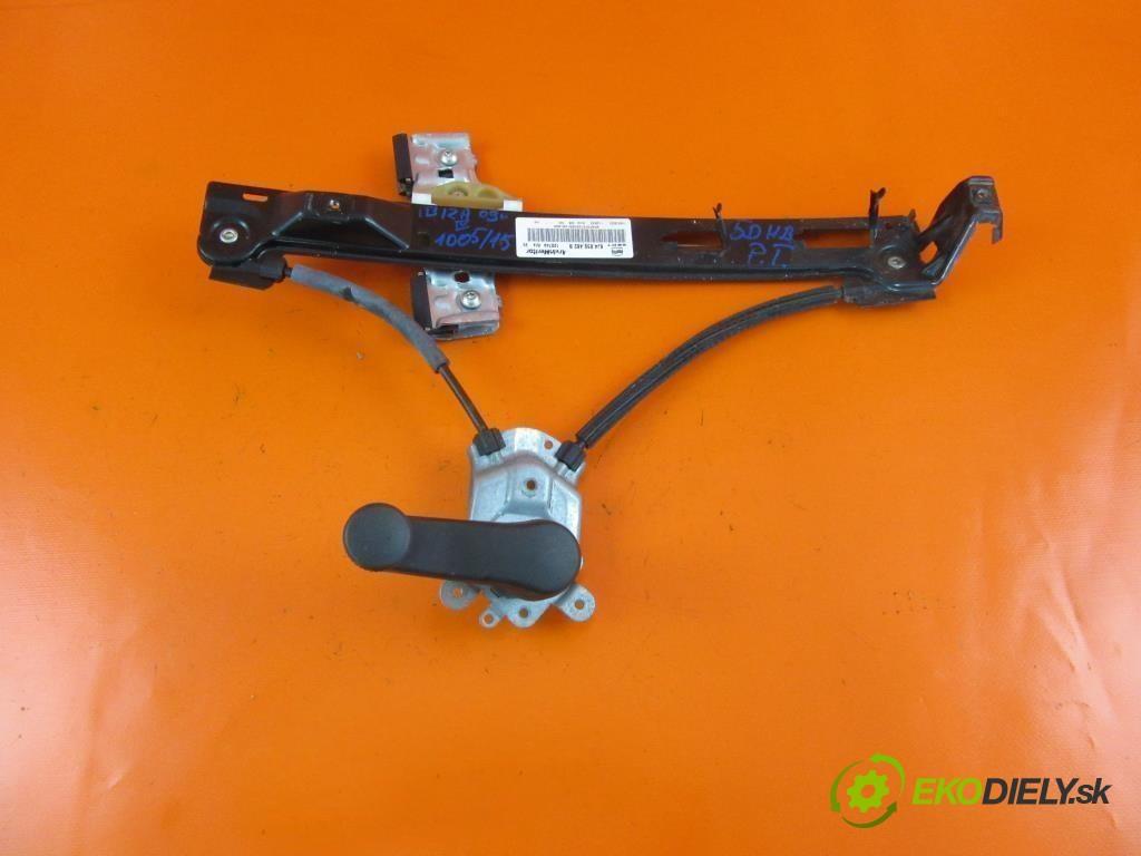 mechanizmus okien - 6J4839462B SEAT IBIZA IV 1.4 TDI BMS  0 0 59,00000000 80 5