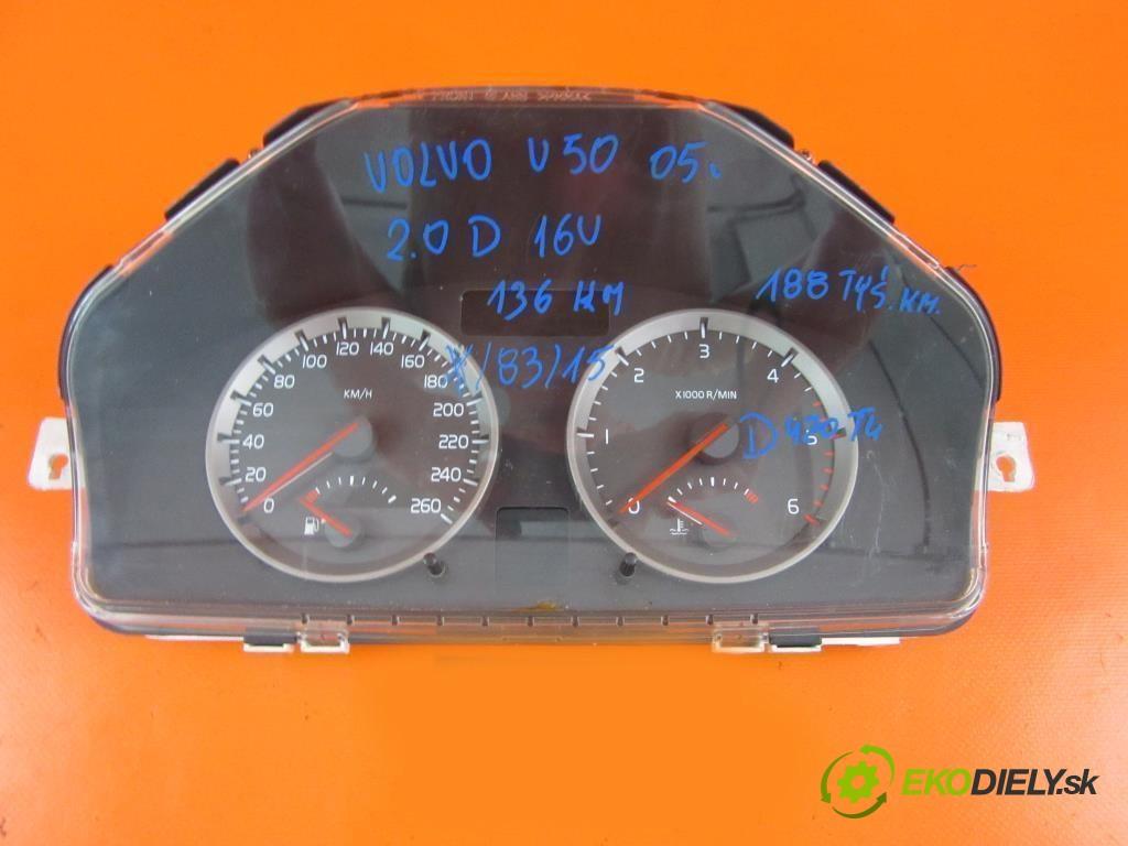 prístrojovka elektrický 30669185, , 8697035 VOLVO V50 MW 2.0 D D 4204 T  0 0 100,00000000 136 5