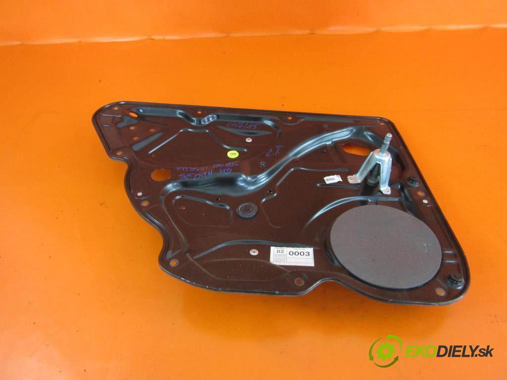 mechanizmus okien - 3C4839755D VW PASSAT B6 1.9 TDI BKC, BXE, BLS  0 0 77,00000000 105