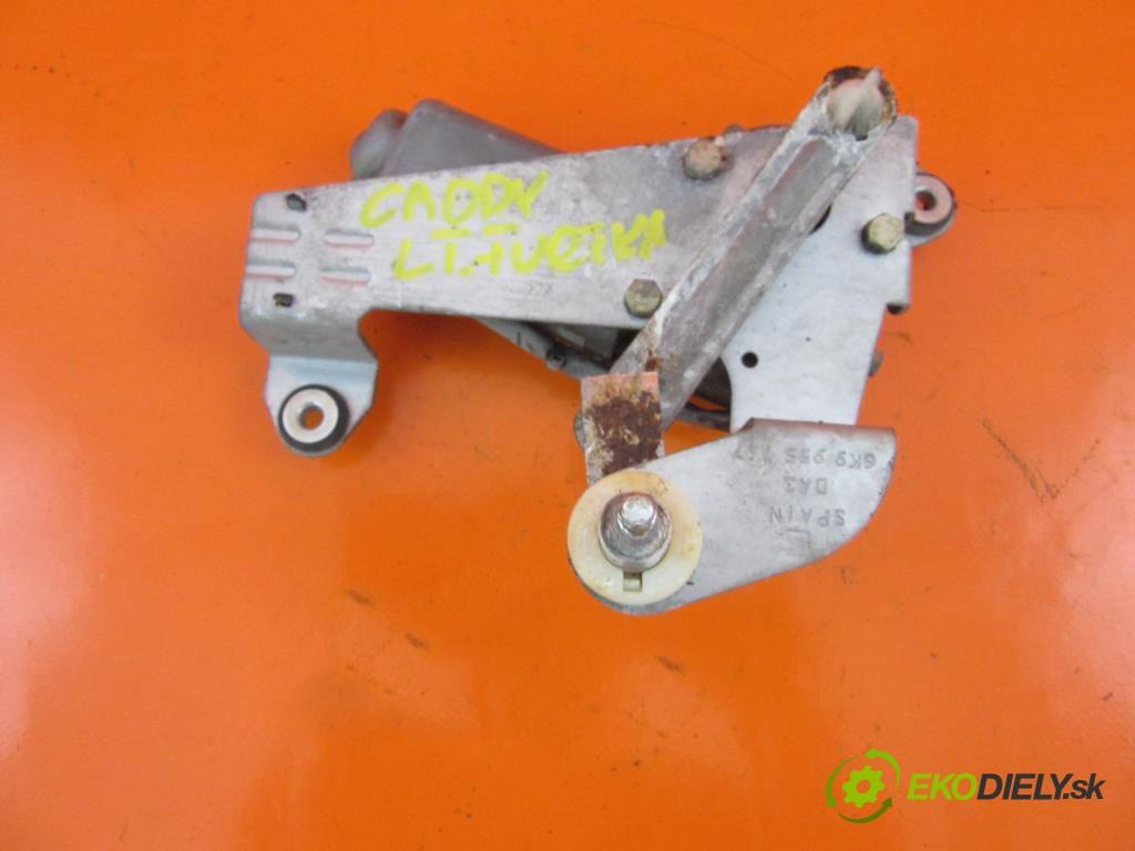motorček stierače zad 6K9955717 VW CADDY III 2.0 SDI BDJ, BST  0 0 51,00000000 70 5