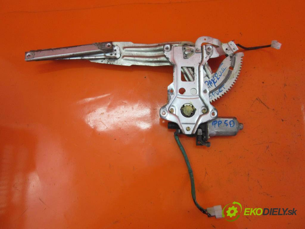 mechanizmus okien -  MITSUBISHI PAJERO SPORT 3.0 V6 (K96W) 6G72 (SOHC 24V)  0 0 125,00000000 170 5