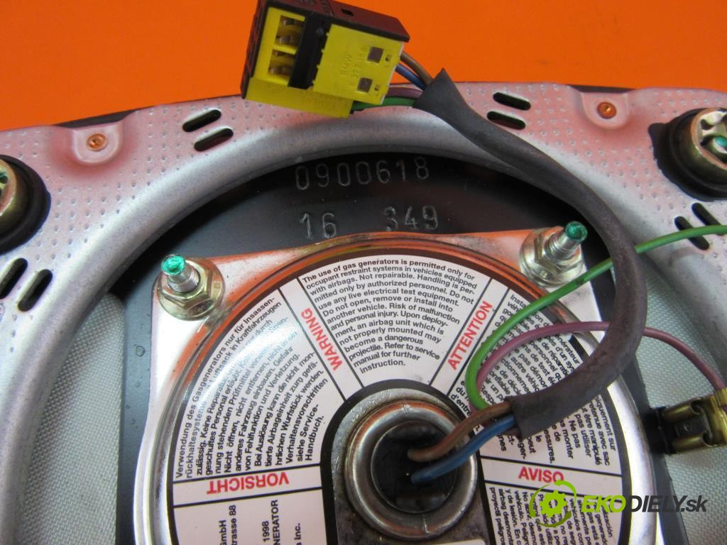 držiak air bag volantu  BMW 3 (E46) 320 D M47 D20, M47 204 D1  0 0 100,00000000 136