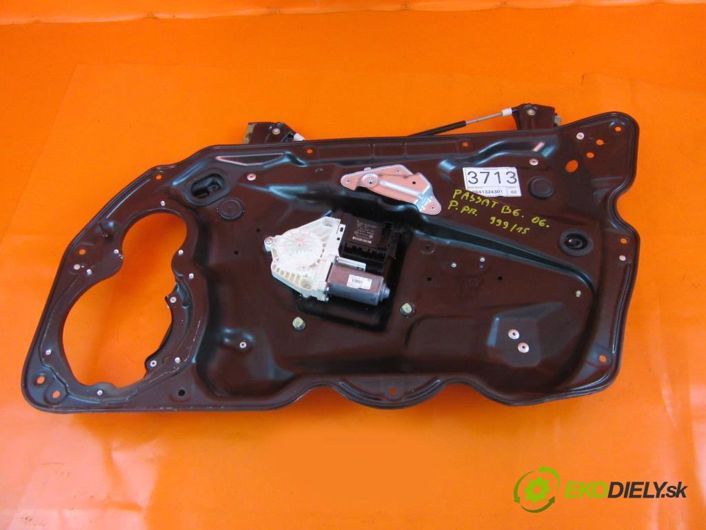 mechanizmus okien - 1K0959792L VW PASSAT B6 2.0 TDI 16V BKP, CBAB  0 0 103,00000000 140 5