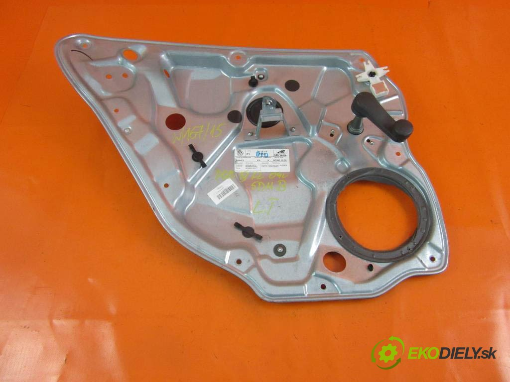 mechanizmus okien - 6Q4839401F VW POLO IV 1.2 BBM  0 0 44,00000000 60 5