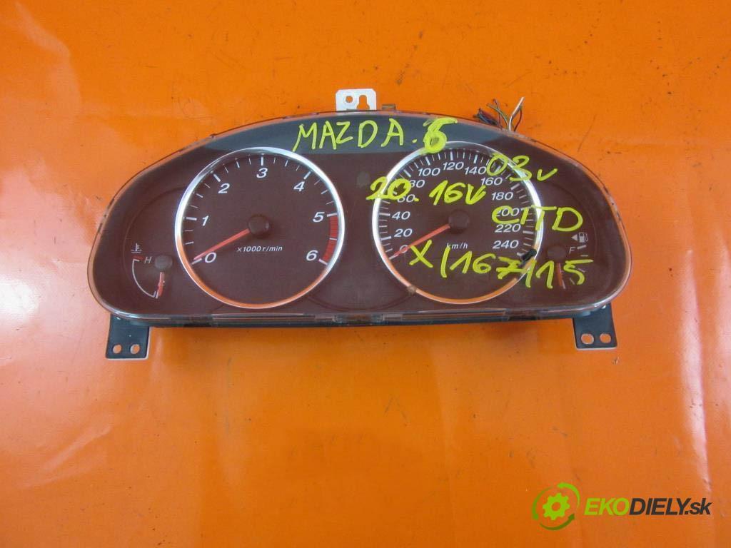 prístrojovka elektrický 5GGK3E MAZDA 6 I 2.0 CITD RF5C  0 0 100,00000000 136 5
