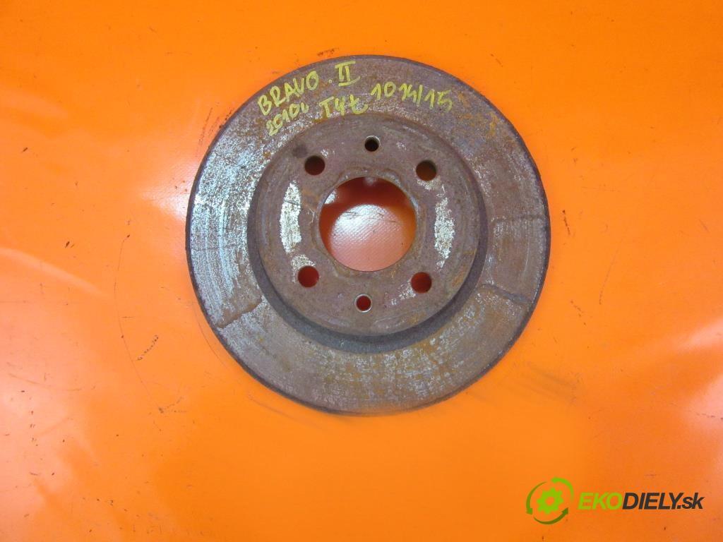 lamela kotouč brzdová zadní část  FIAT BRAVO II 1.6 D MULTIJET 198 A3.000  0 0 77,00000000 105 5