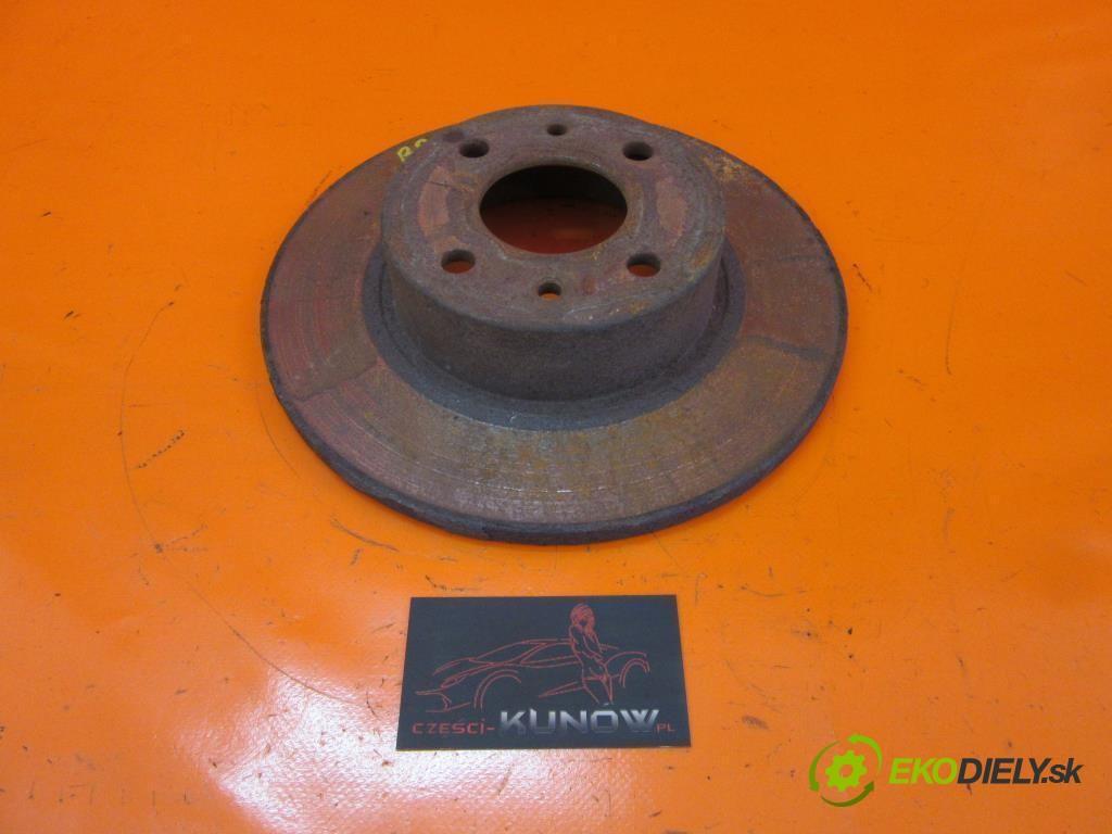 lamela kotúč brzdová zad  FIAT BRAVO II 1.6 D MULTIJET 198 A3.000  0 0 77,00000000 105 5