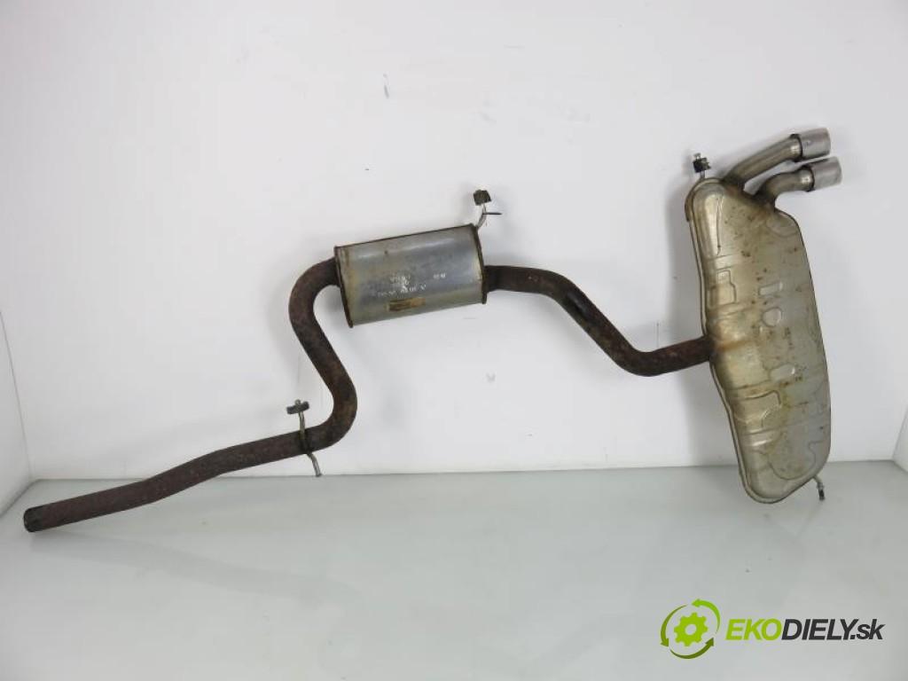 rúra výfuk  VW GOLF V 5 2.0 TDI BMN manual 0 6 125,00000000 170 5