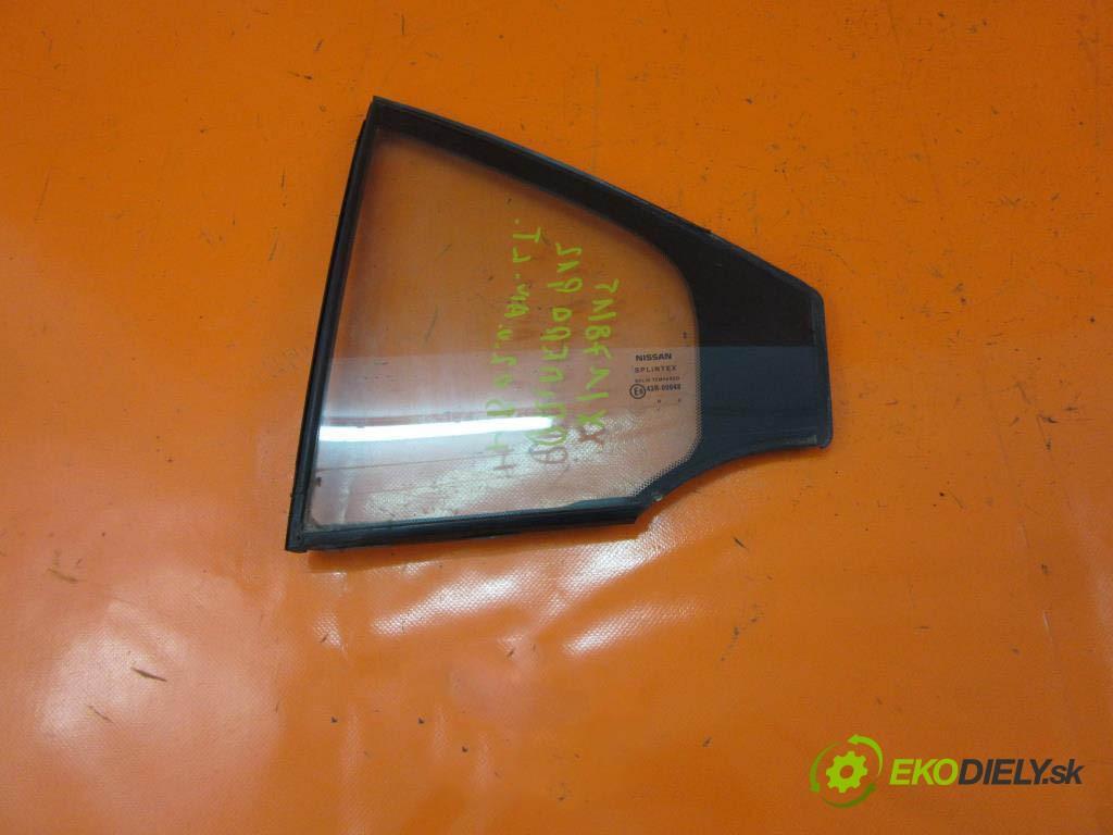 okno dveří lt 43R00048 NISSAN PRIMERA P12 2.2 DCI YD22DDT  0 0 102,00000000 139 5