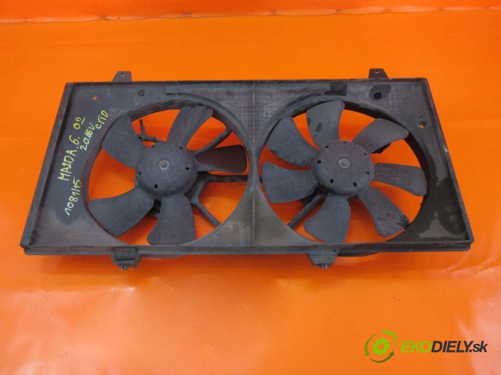 ventilátor chladič vody  MAZDA 6 I 2.0 CITD RF5C  0 0 100,00000000 136 5