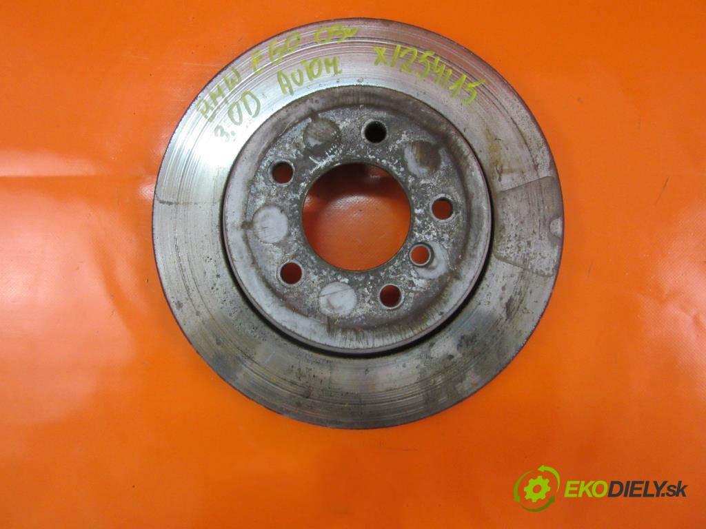 lamela kotouč brzdová zadní část  BMW 5 (E60) , (E61) 530 D N57 306 D2  0 0 160,00000000 218 5