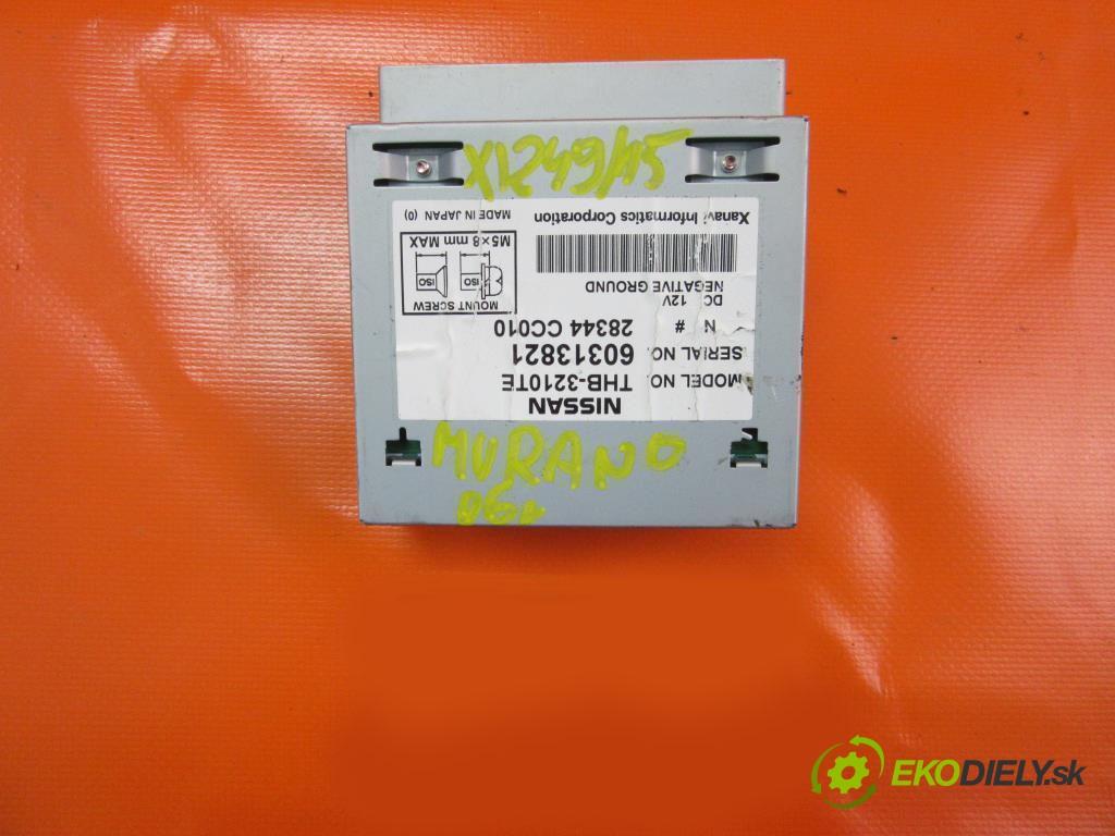 ovládač navigácia 60313821 , THB3210TE , 28344CC010 NISSAN MURANO (Z50) 3.5 V6 4X4 VQ35DE  0 0 172,00000000 234 5