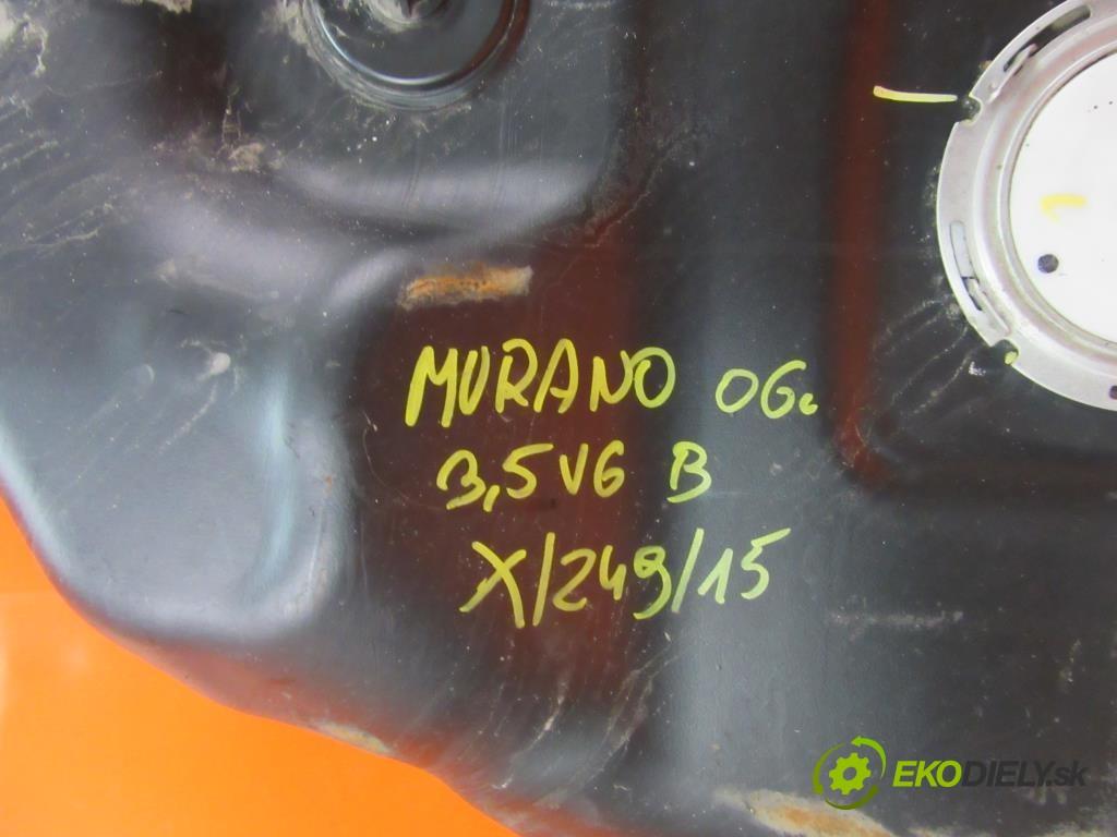 nádržka paliva benzín  NISSAN MURANO (Z50) 3.5 V6 4X4 VQ35DE  0 0 172,00000000 234 5