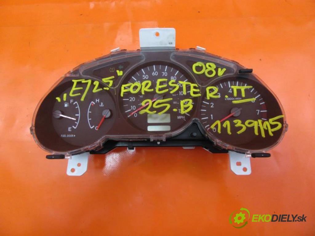 prístrojovka elektrický 85014SA420 SUBARU FORESTER II 2.5 I EJ25 OHC  manual 0 5 127,00000000 173 5