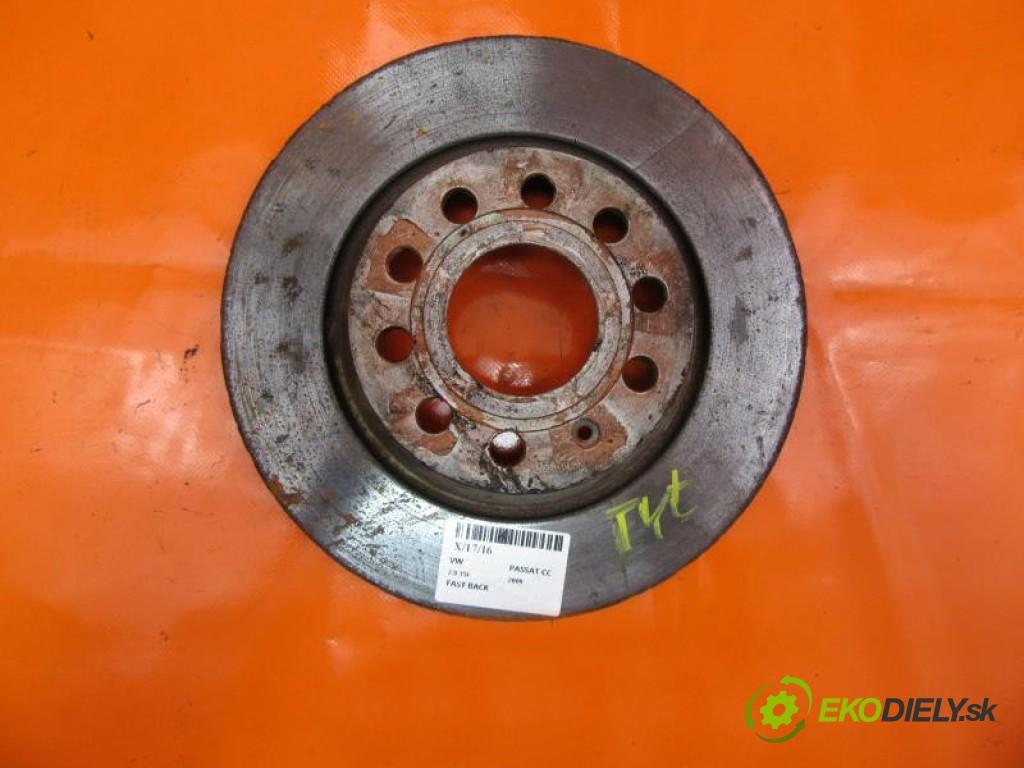 lamela kotouč brzdová zadní část  VW PASSAT CC 2.0 TSI CCTA, CAWB, CBFA, CCZA manual 0 6 147,00000000 200