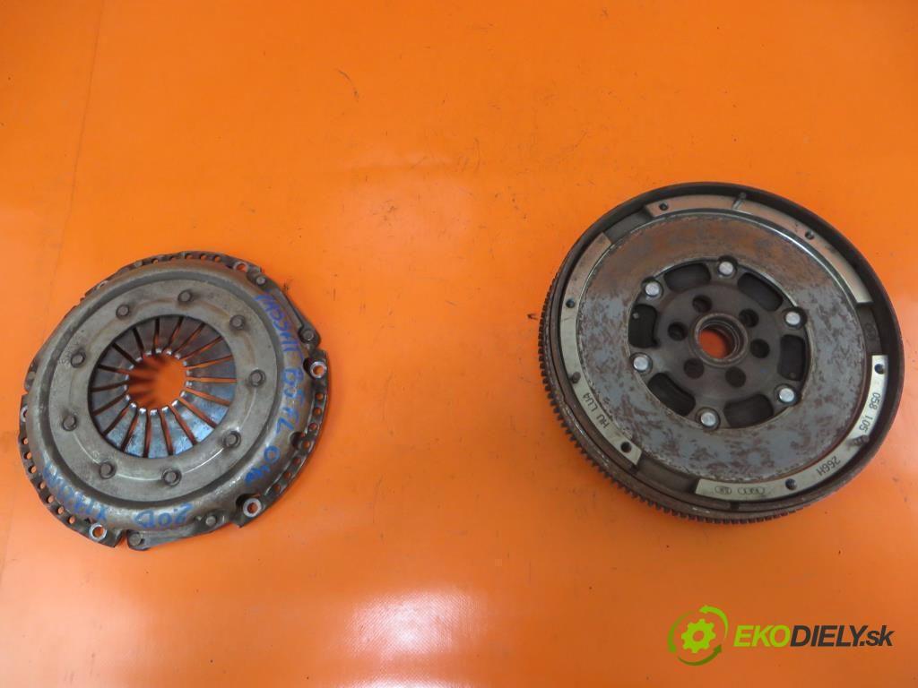 koleso dvojhmota 058105266H VW PASSAT B5 1.9 TDI AVB  0 0 74,00000000 101 5