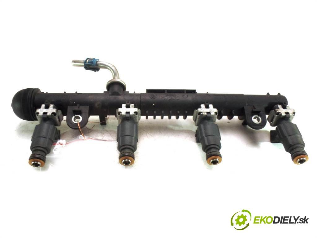 lišta vstrekovacia vstrekovacie ventily 0280151076  0280155965 Opel Corsa C       0