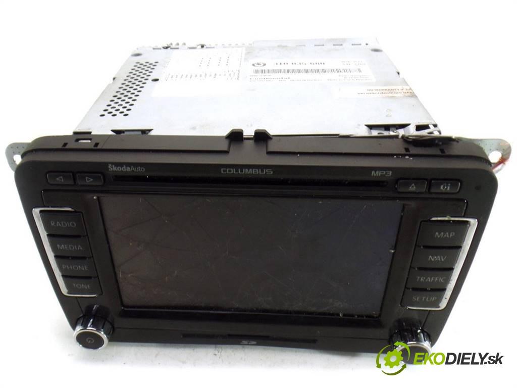 navigácia 3T0035680 Skoda Superb II       0