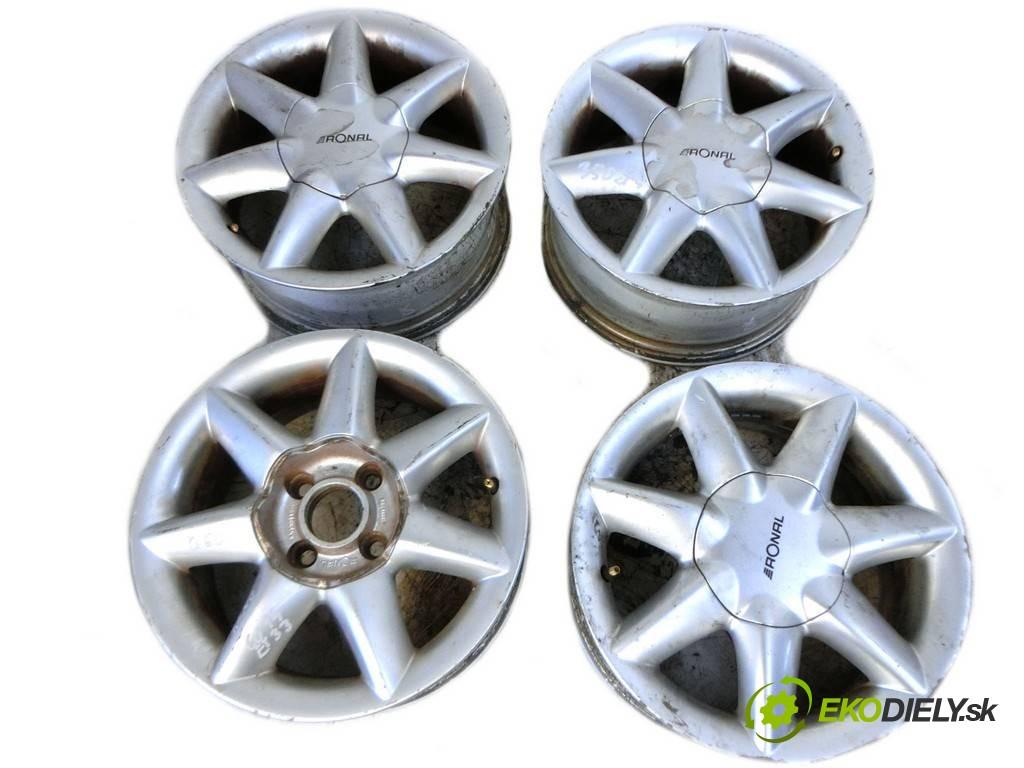 disky hliníkové - 14  Renault Scenic       0
