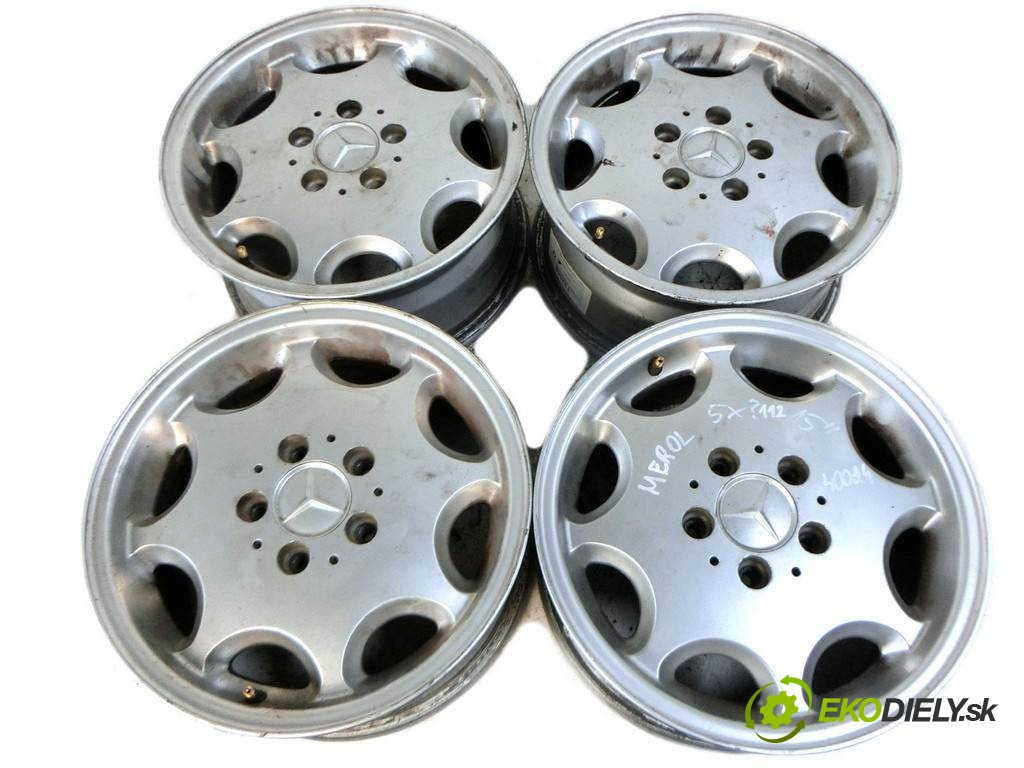 disky hliníkové - 15  Mercedes-Benz        0