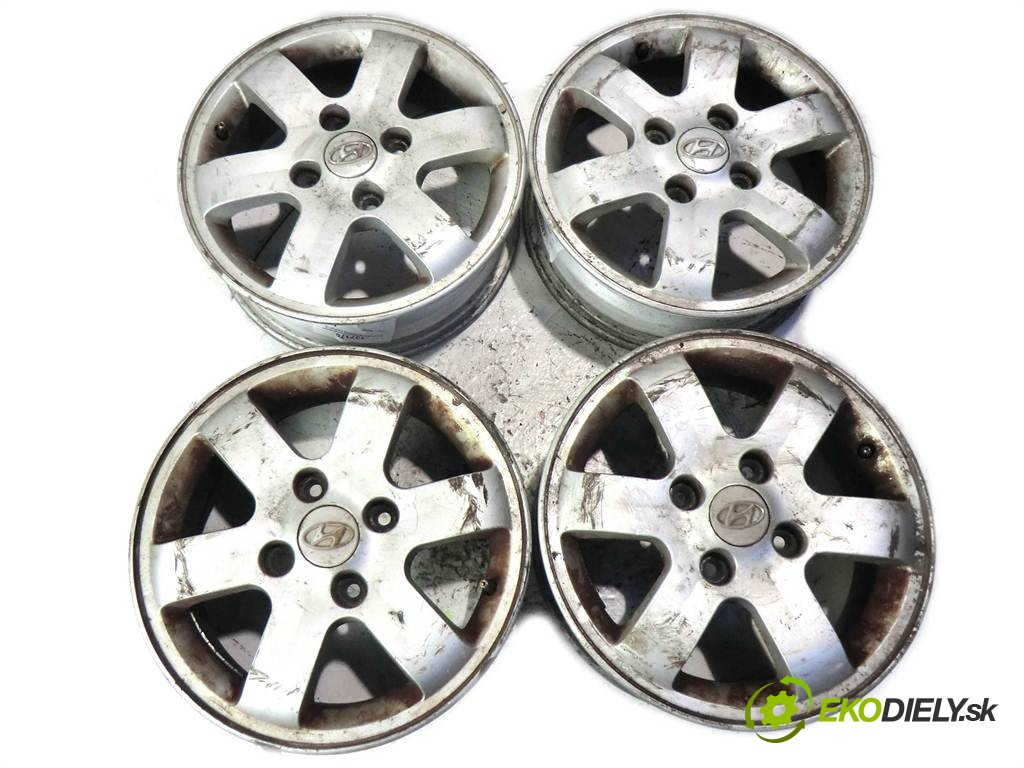disky hliníkové - 15  Hyundai        0