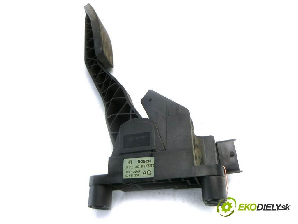potenciometer plynového pedálu 0281002298 Opel Zafira A       0