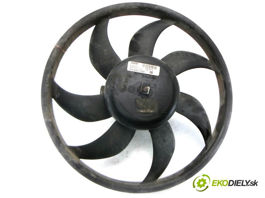 ventilátor chladiča 24445189 Opel Corsa C       0