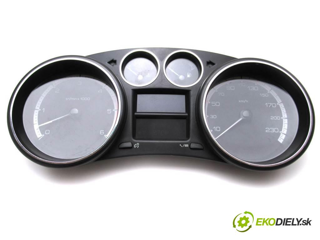 Peugeot 308 LIFT         prístrojovka  org. čis.  9666649080